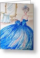 Cinderella Greeting Card by Phong Trinh
