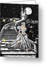 Cinderella Greeting Card by Svetlana Sewell