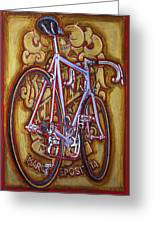Cinelli Laser Bicycle Greeting Card by Mark Howard Jones