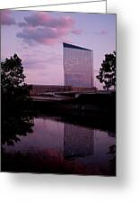 Cira Centre Greeting Card by Rona Black
