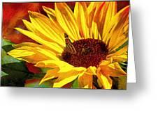 Circle Of Life............. Greeting Card by Tanya Tanski