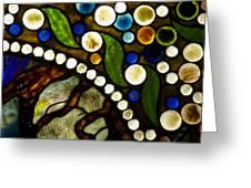 Circles Of Glass Greeting Card by Christi Kraft