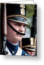 Citadel Cadet Greeting Card by Kathleen K Parker
