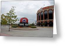 Citi Field Greeting Card by Rob Hans