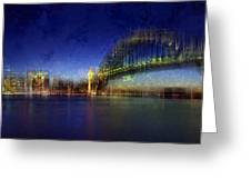 City-art Sydney Greeting Card by Melanie Viola