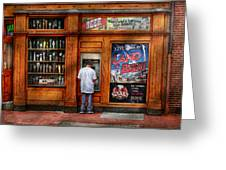 City - Baltimore Md - Explore The Land Of Beer  Greeting Card by Mike Savad