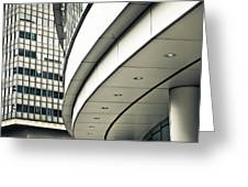 City Buildings Greeting Card by Tom Gowanlock