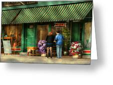 City - Canandaigua Ny - Buyers Delight Greeting Card by Mike Savad