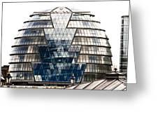 City Hall London Greeting Card by Christi Kraft