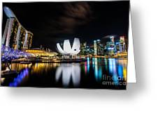 City Of Light Greeting Card by Yoo Seok Lee