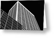 City Relief Greeting Card by Dave Bowman
