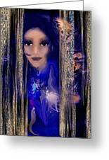 Clairvoyant Seven Greeting Card by Patricia Motley