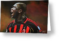 Clarence Seedorf Greeting Card by Paul  Meijering