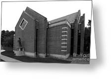 Clarke University Sacred Heart Chapel Greeting Card by University Icons