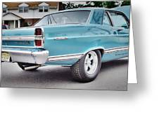 Classic Ford Fairlane Greeting Card by Thomas  MacPherson Jr