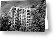 Classic Iron Fire Escape Chicago Il Greeting Card by Christine Till
