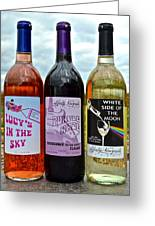 Classic Rock Classic Wine Greeting Card by Frozen in Time Fine Art Photography
