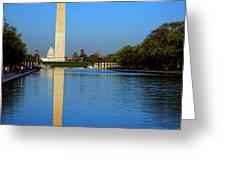 Classic Washington Greeting Card by Olivier Le Queinec