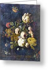 Classical Bouquet - S0104t Greeting Card by Variance Collections