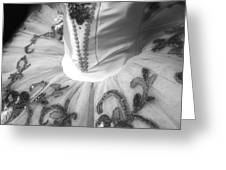 Classically Costumed X Monochrome Greeting Card by Cassandra Buckley