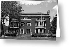 Cleveland State University Mather Mansion Greeting Card by University Icons