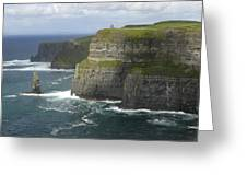 Cliffs Of Moher 2 Greeting Card by Mike McGlothlen