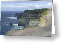 Cliffs of Moher 4 Greeting Card by Mike McGlothlen