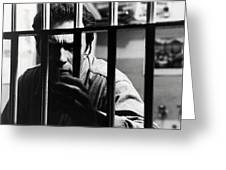 Clint Eastwood In Escape From Alcatraz  Greeting Card by Silver Screen