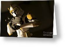 Clone Trooper 1 Greeting Card by Micah May