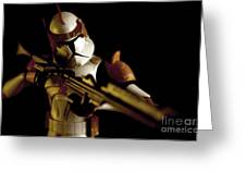 Clone Trooper 2 Greeting Card by Micah May
