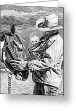 Close To The Heart Greeting Card by Glen Powell