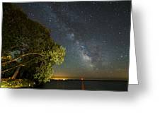 Cloud Of Stars Greeting Card by Matt Molloy