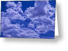Cloud Watching Greeting Card by Garry Gay