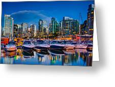 Coal Harbour Greeting Card by Ian Stotesbury