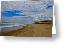 Coast Guard Beach Greeting Card by Amazing Jules