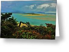 Coastal Storm Greeting Card by Benjamin Yeager