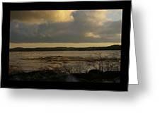 Coastal Winters Afternoon 3 Greeting Card by Amy-Elizabeth Toomey