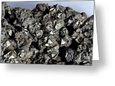 Cobaltine Mineral Greeting Card by Spl