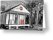 Coca Cola In The Country Greeting Card by Scott Pellegrin