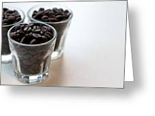 Coffee Beans Greeting Card by Gavin Lewis