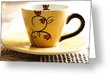 Coffee Cup Greeting Card by Blink Images