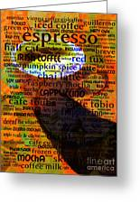 Coffee Lover 5d24472p8 Greeting Card by Wingsdomain Art and Photography