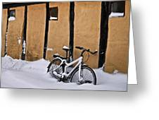 Cold Storage Greeting Card by Odd Jeppesen