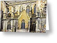 Collegiate St-martin Greeting Card by Richard J Thompson
