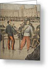 Colonel Henry And Lieutenant-colonel Greeting Card by Henri Meyer