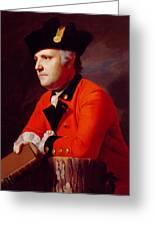 Colonel John Montresor Greeting Card by John Singleton Copley