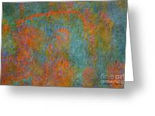Color Abstraction Xii Greeting Card by David Gordon