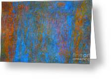 Color Abstraction Xiv Greeting Card by David Gordon
