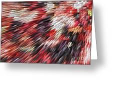 Color Explosion #02 Greeting Card by Ausra Paulauskaite