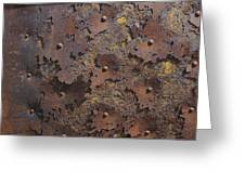 Color of Steel 2 Greeting Card by Fran Riley